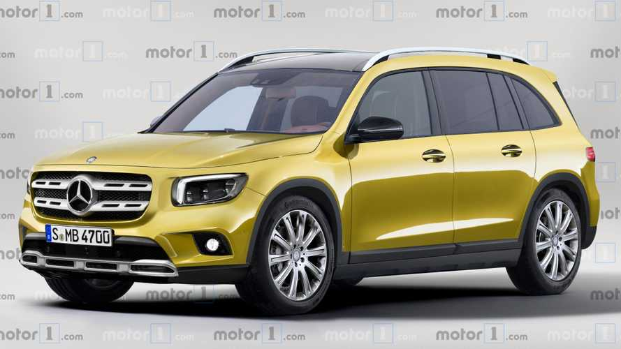 Render Mercedes-Benz GLB 2019
