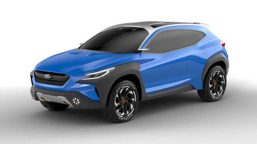 Subaru Viziv Adrenaline konsepti genç ve cesur görünüyor