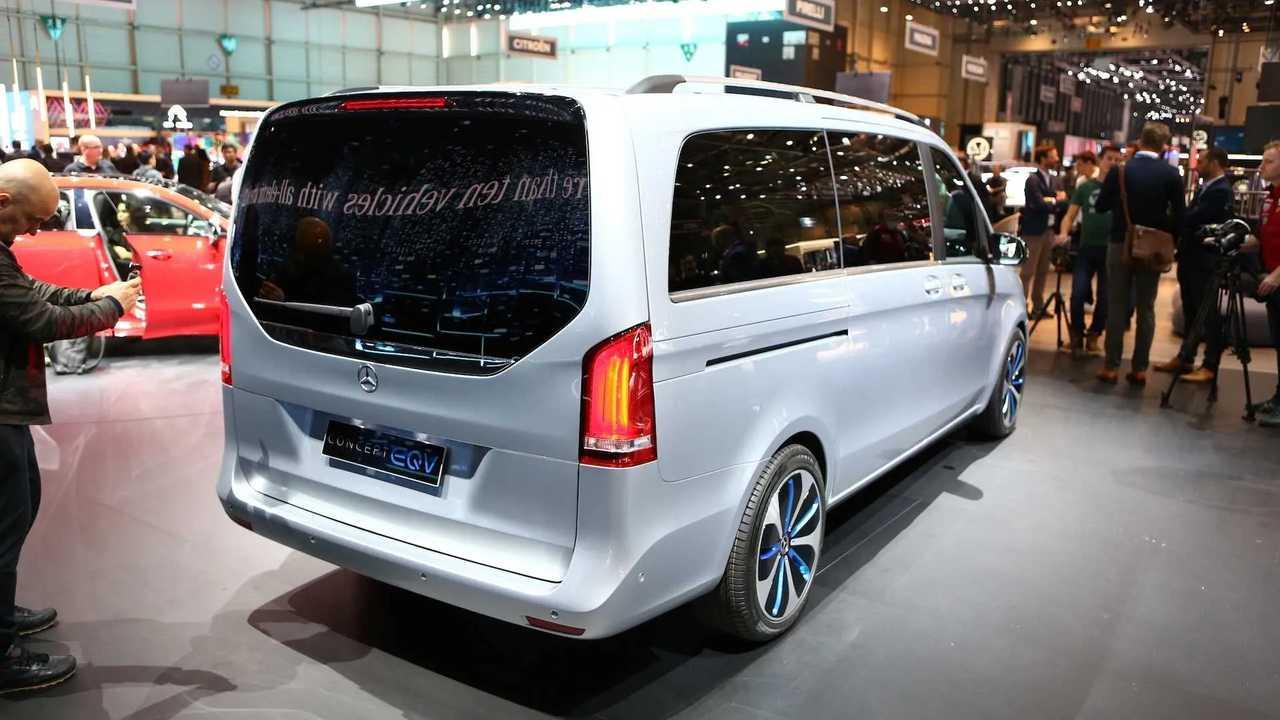 Concetto di Mercedes-Benz EQV