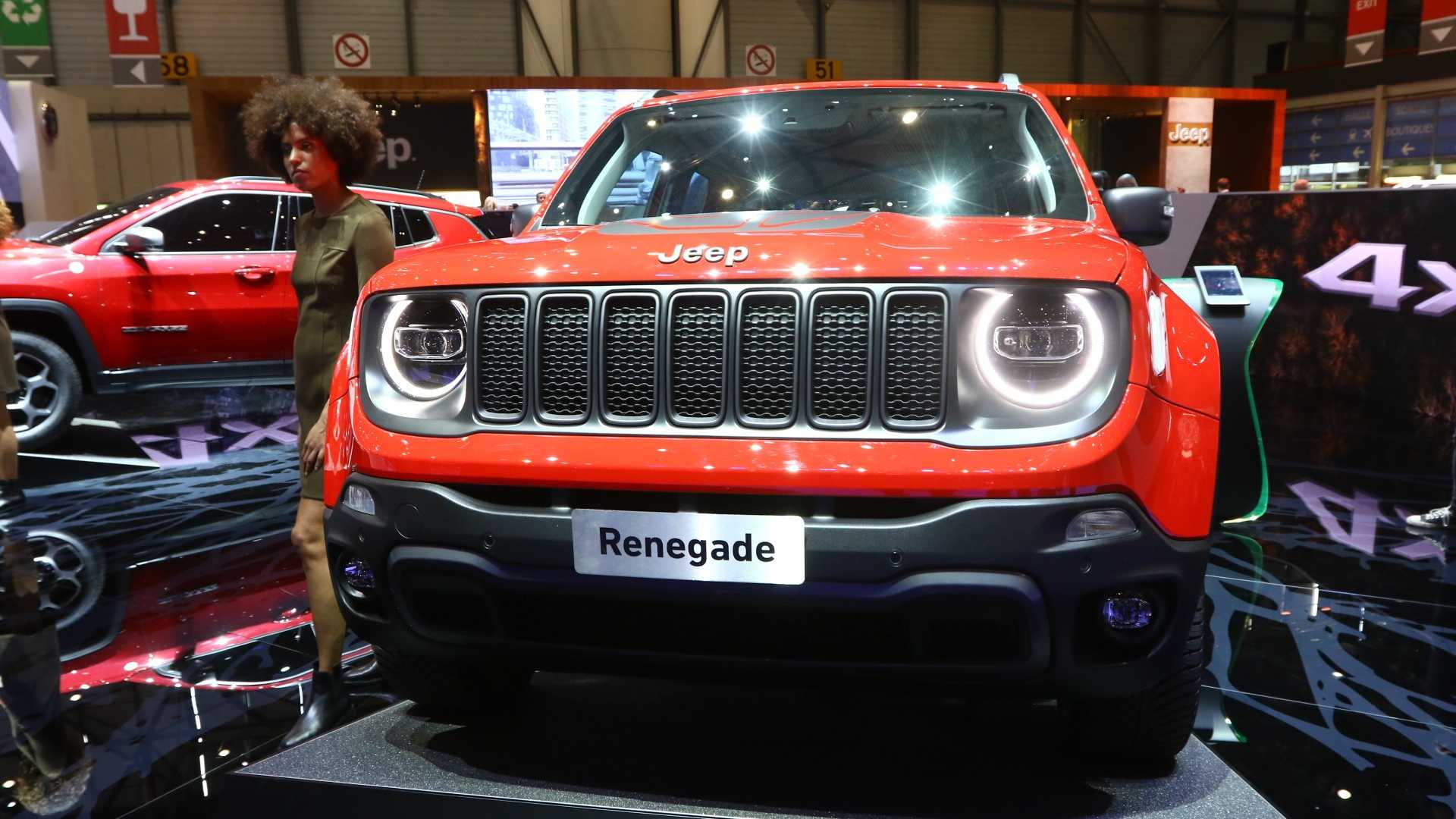 Prix Jeep Renegade >> Jeep Renegade Compass Plug In Hybrids Revealed With 240 Hp