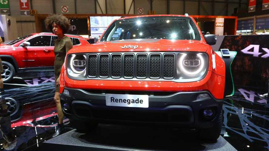 Jeep dévoile les Renegade et Compass hybrides rechargeables