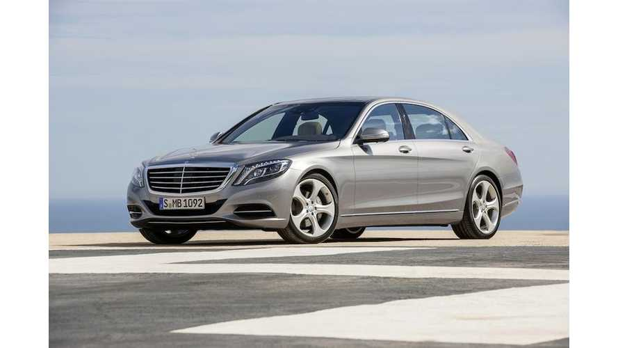 Mercedes-Benz S500 Plug-In Hybrid Coming in 2014