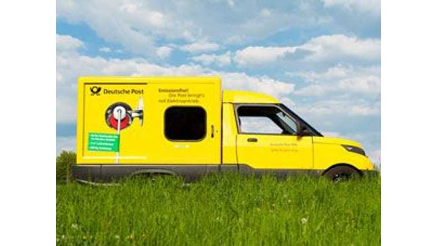 Germany's Deutsche Post DHL to Go Green With 141 Electric Delivery Vehicles