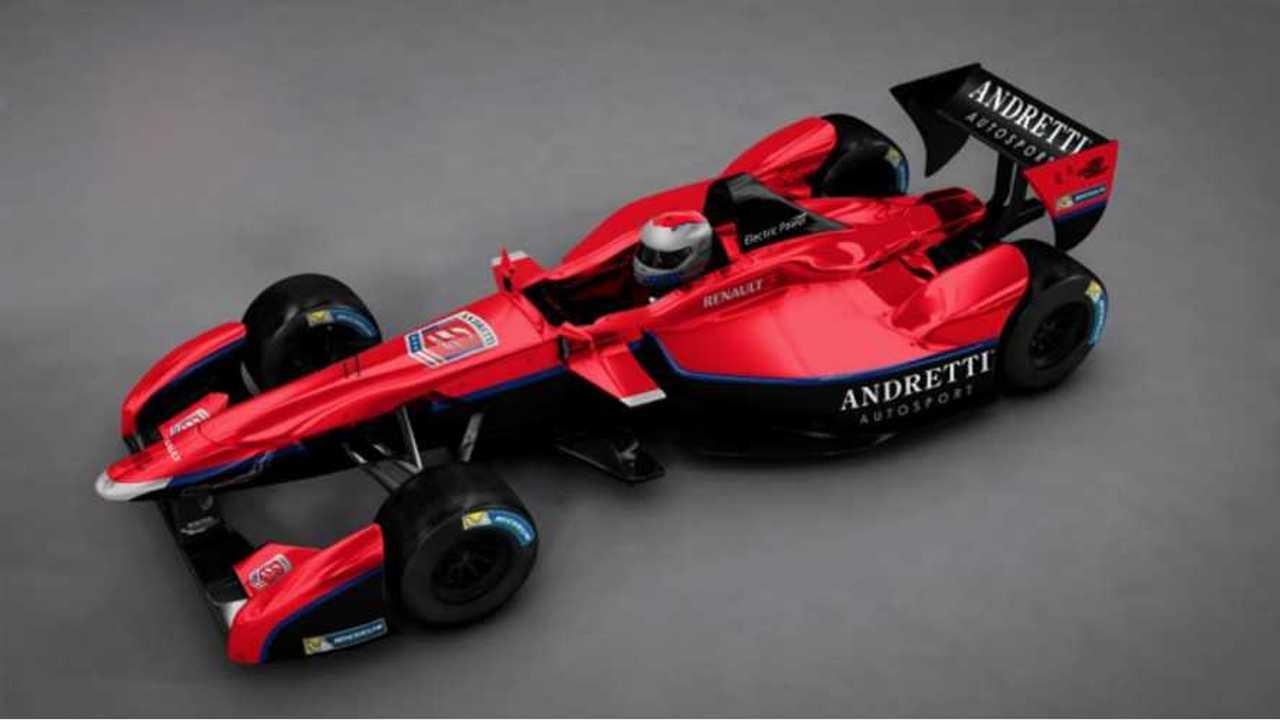 Andretti Autosport Becomes First US Formula E Team