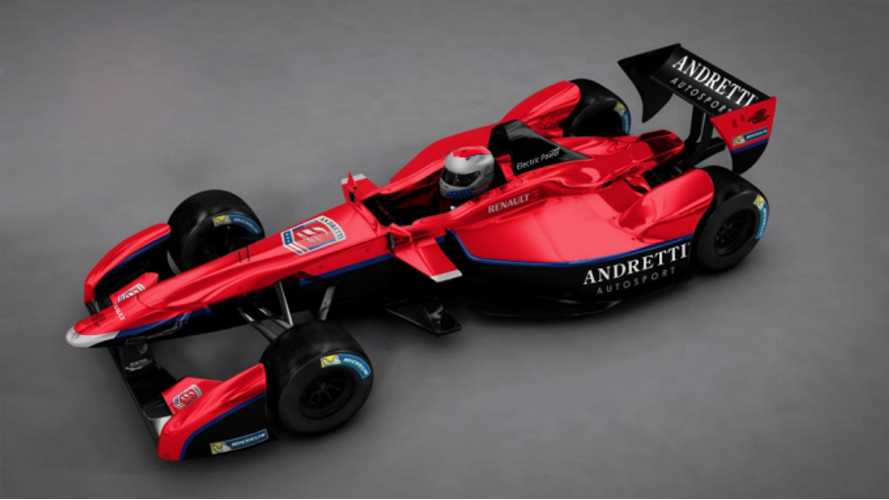 Andretti Autosport Becomes First US Formula E Team