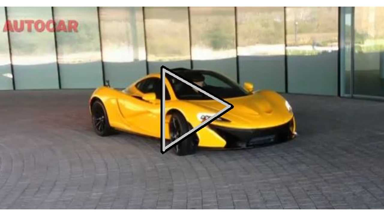 Video: McLaren P1 Caught Revving Engine For First Time Ever