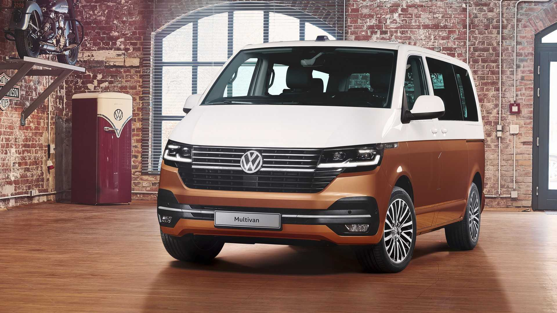 2019 VW T6 1 Unveiled With New Tech, Sophisticated Look