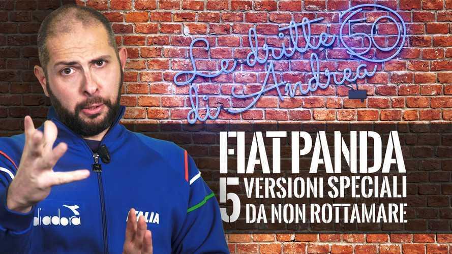 5 versioni speciali della Fiat Panda da non rottamare!