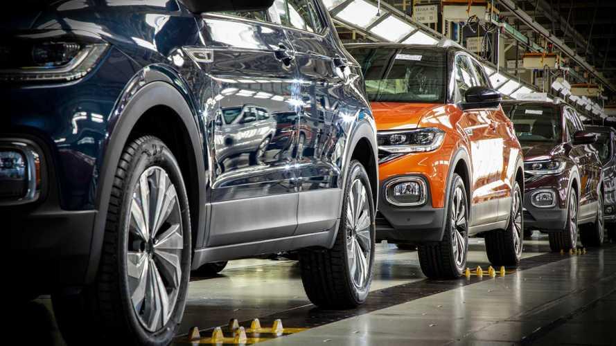 Já foram produzidos mais de 2 milhões de carros no Brasil em 2019, revela Anfavea