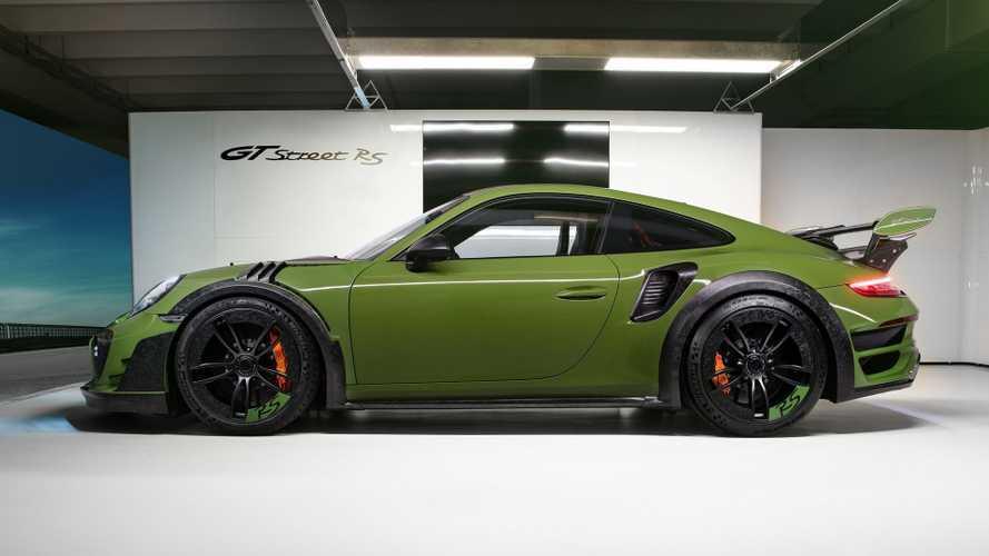 Techart GTstreet RS 2019: Über-911-Turbo debütiert in Genf