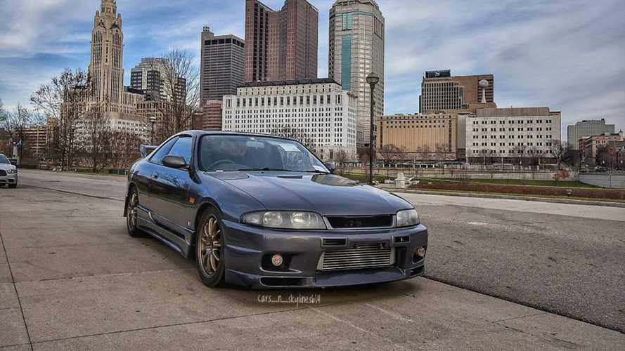 This Nissan Skyline R33 Is One Of The First Officially Imported