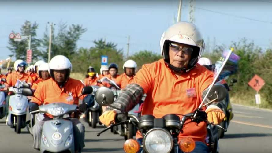Watch Some Octogenarians Tour Taiwan On Scooters