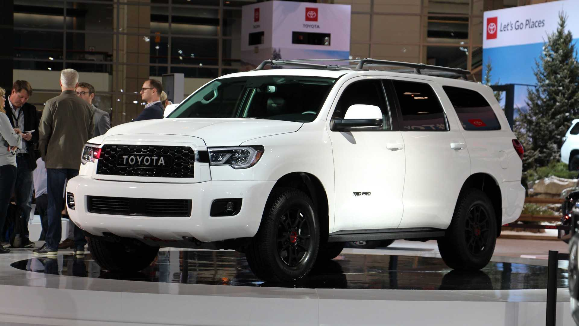 2020 Toyota Sequoia Review, Interior, TRD Pro >> Toyota Sequoia Trd Pro Teaches An Old Dog New Tricks In Chicago