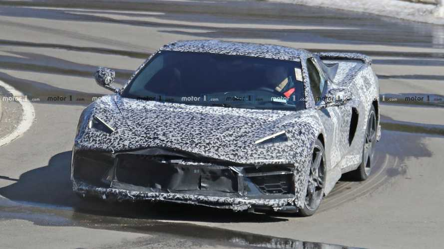 New Mid-Engined Corvette Spy Photos Reveal Details Front And Rear