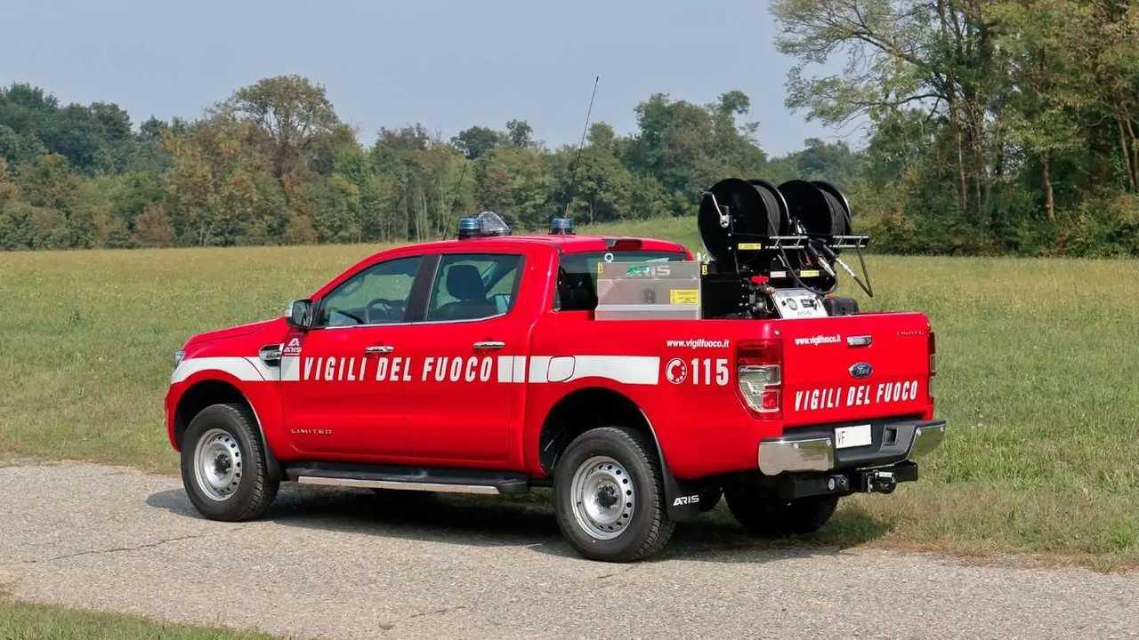 Ford Ranger per i Vigili del Fuoco