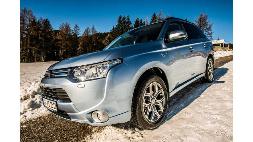 Mitsubishi Confirms No 2014 Outlander PHEV For US, Looking For Even More Production Capacity