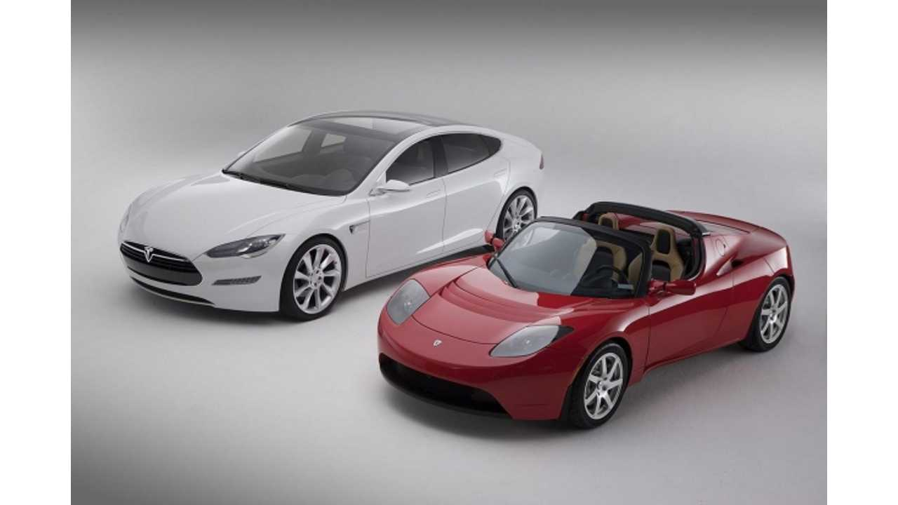 Tesla Roadster And Model S Noted As Gen 1 And Gen 2