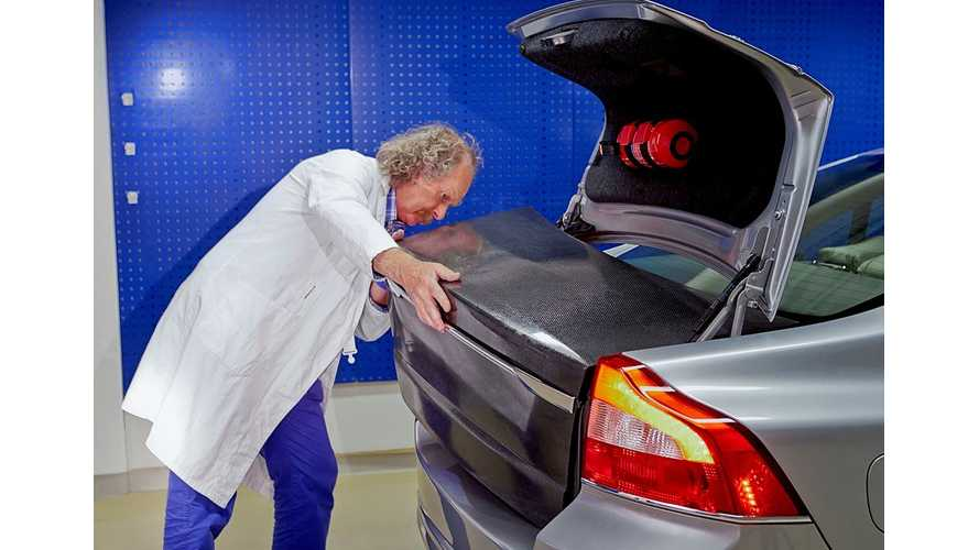 Volvo Envisions Body Panels as Energy Storage in S80 Experimental Prototype