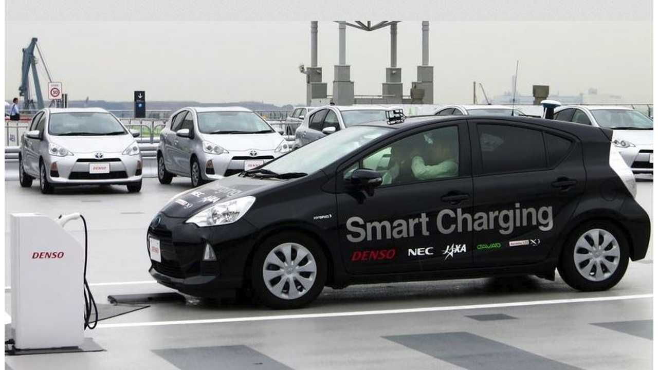 Denso Shows Off Driverless Wireless Charging Technology