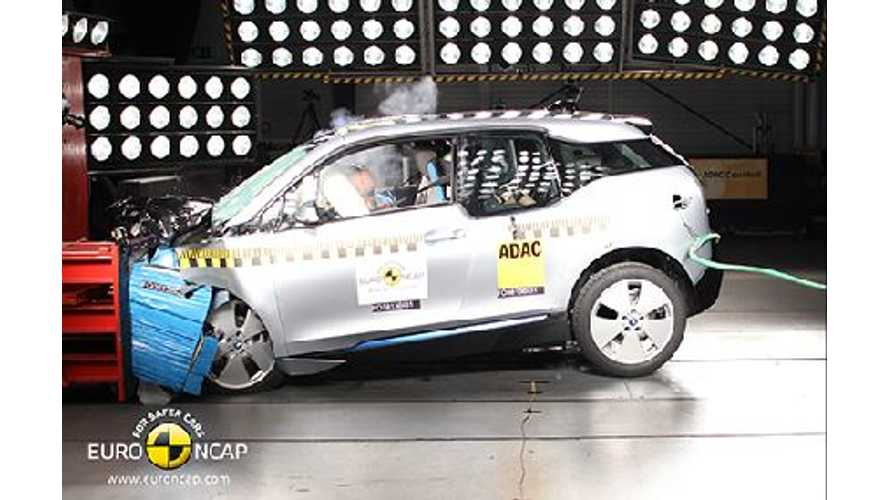 BMW i3 Scores Only 4 Stars in Euro NCAP Crash Tests (w/videos)
