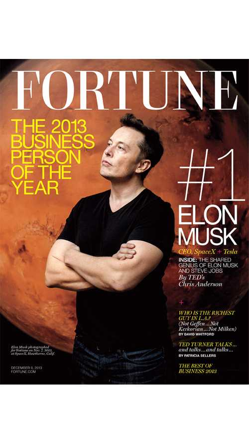 Elon Musk Award Of The Week - Named Businessperson Of The Year By Fortune