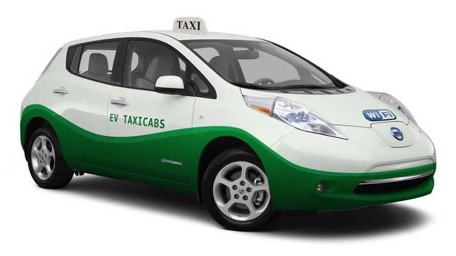 Arlington Officials Recommend Denying 40 Nissan LEAF Taxi Cab Bid.  EVs Not Ready