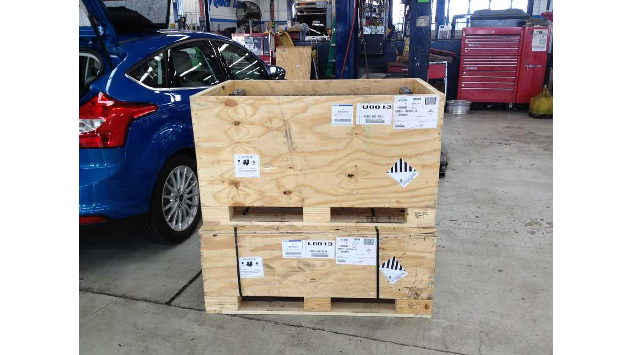 crated focus hv batteries