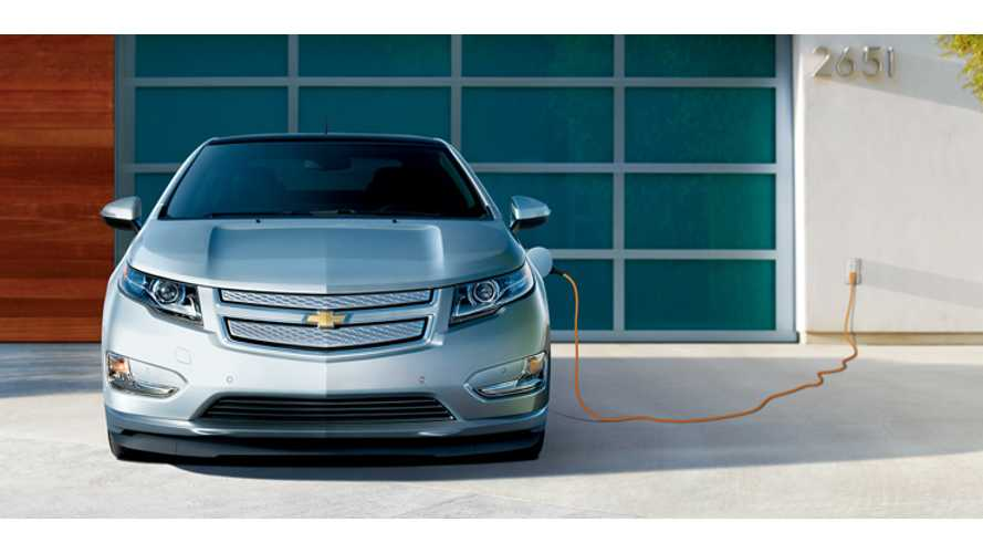 Chevrolet Volt Miles Driven All-Electrically Now Total More Than 100 Million