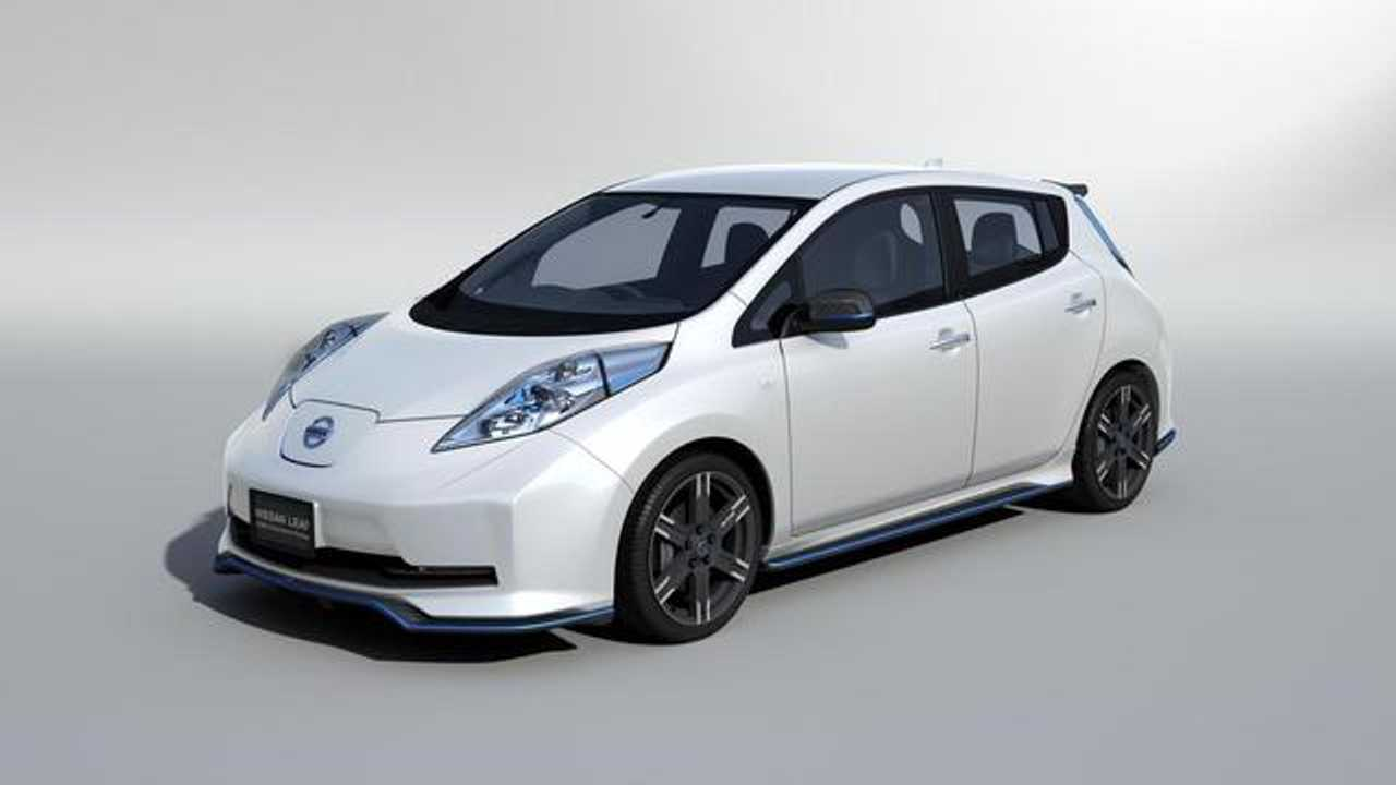 Report: Nissan Confirms Limited Production of LEAF Nismo
