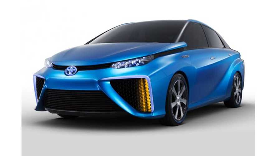 Toyota Admits It'll Take Until 2030 to Make Fuel Cell Vehicles Cost Competitive With EVs