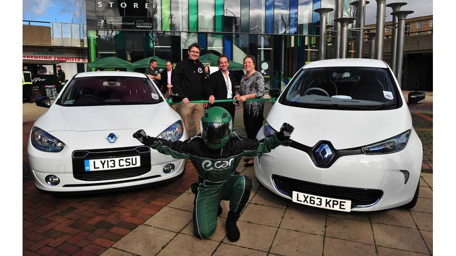 London Gets Its First Electric Car Sharing Service: E-Car Club