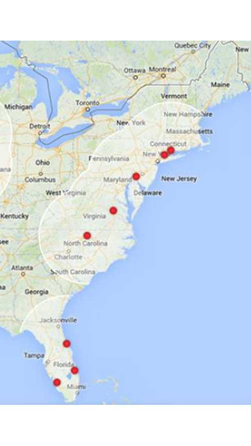 Elon Musk: East Coast Tesla Supercharger Network to be Complete in a Few Months