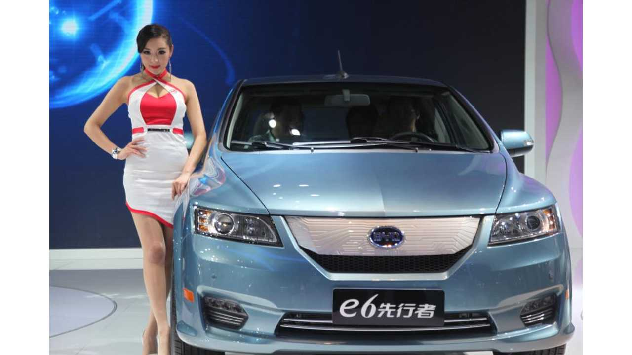 BYD:  Electric e6 Can Reach Over One Million Kilometers (621,000 Miles) On Original Battery