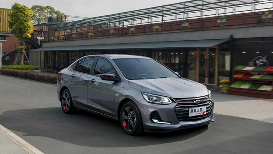 Novo Chevrolet Onix recebe motor 1.3 aspirado na versão de entrada chinesa