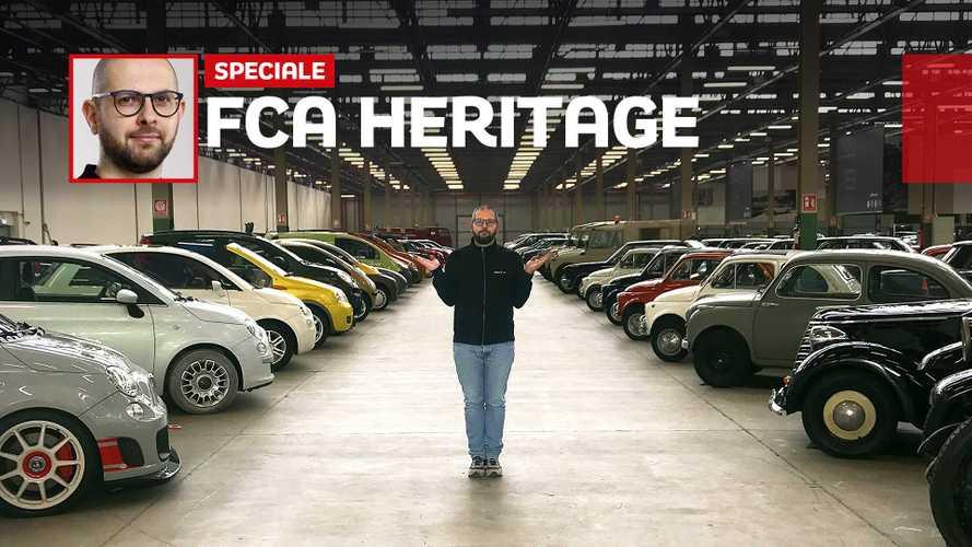 FCA Heritage HUB: un viaggio nella storia dell'auto italiana