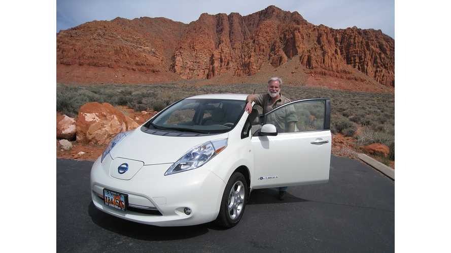 Long Term Nissan LEAF Mileage/Usage Review:  Once Around The Sun