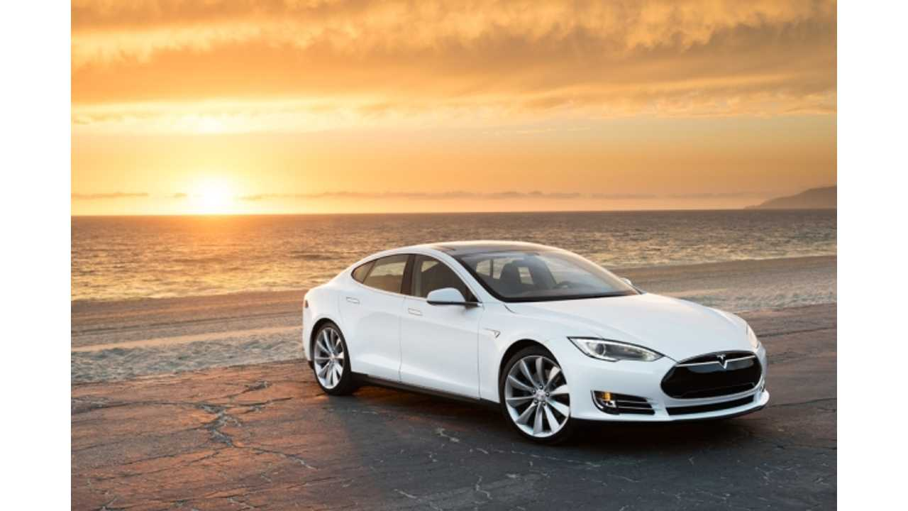 At Least Two Tesla Model S Electric Sedan are Available to Rent in the San Fran Area.