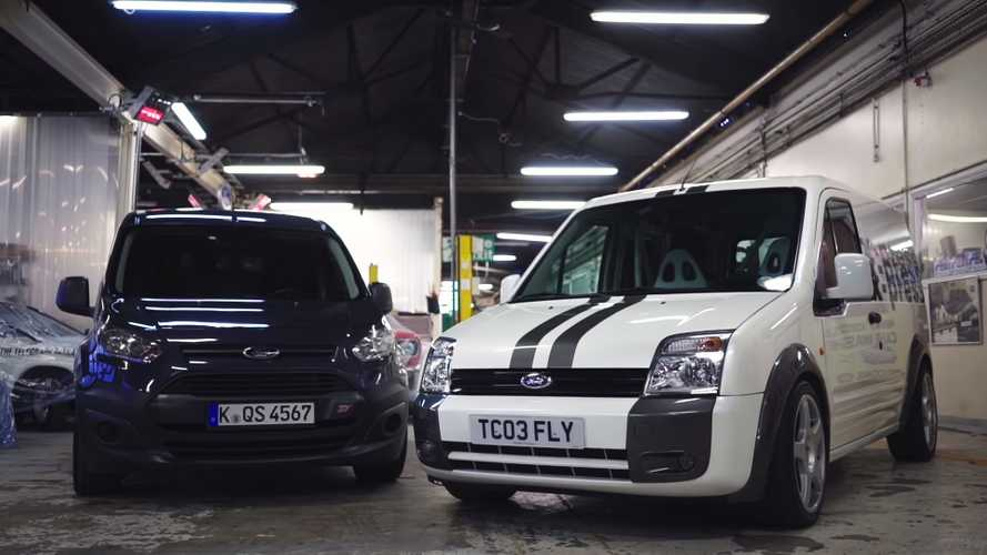 ¿Un Ford Transit Connect con el motor de un Focus RS? ¡Ver para creer!