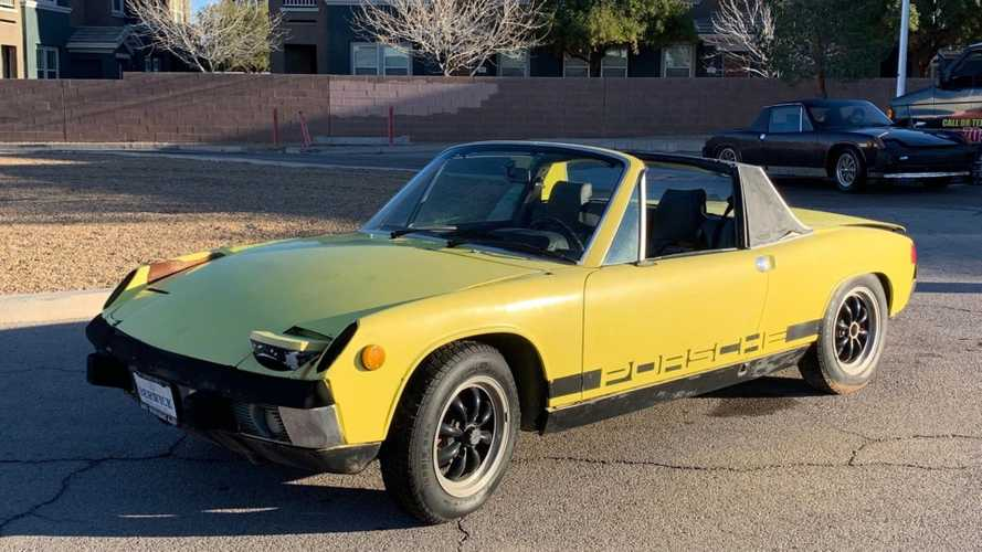 Pair of No Reserve Porsche 914s Looking for a New Home