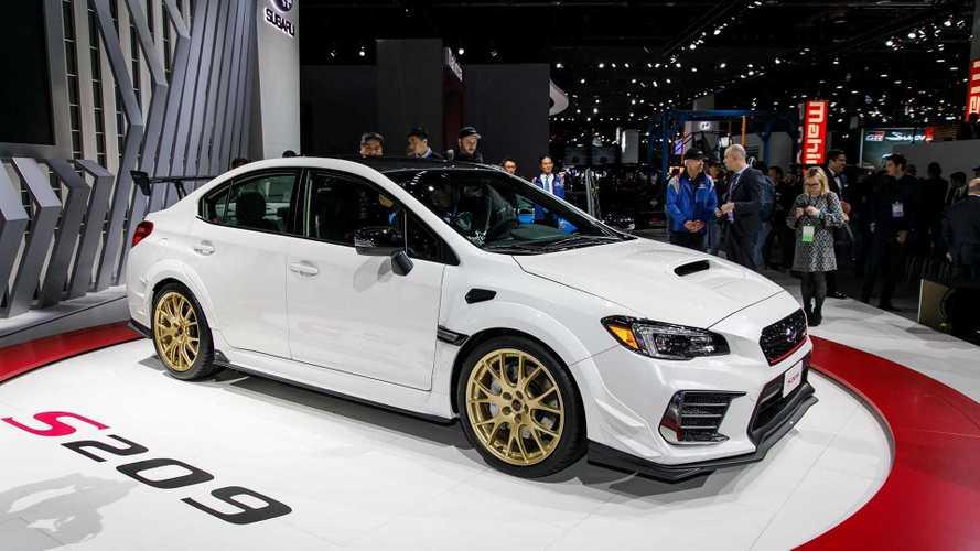 Salão de Detroit: Subaru STI S209 é versão ainda mais invocada com 345 cv