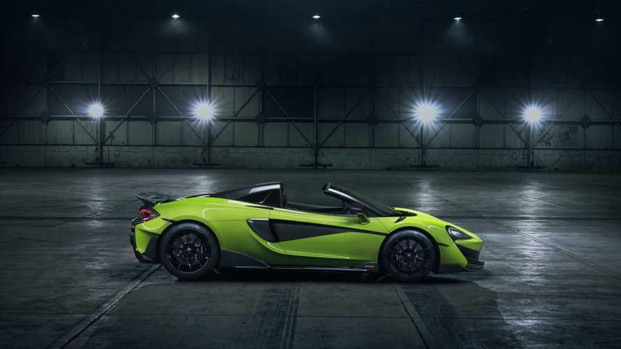 Tető nélkül is hozza a kupé értékeit a McLaren 600LT Spider
