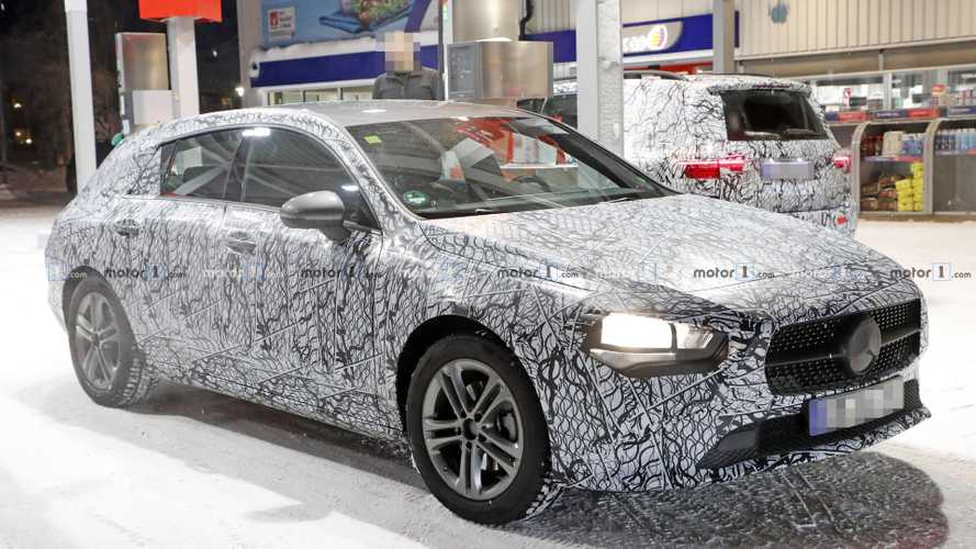 Mercedes CLA Shooting Brake Spied Still Wearing A Lot Of Camo
