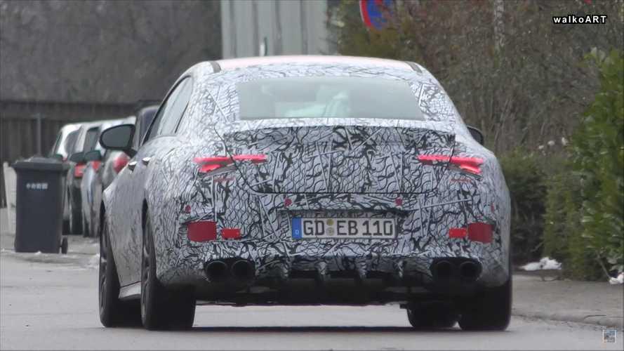 """Mercedes-AMG CLA 45, le foto spia della berlina """"arrabbiata"""""""