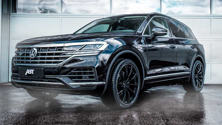 New VW Touareg By ABT Ups Power And Wheel Size