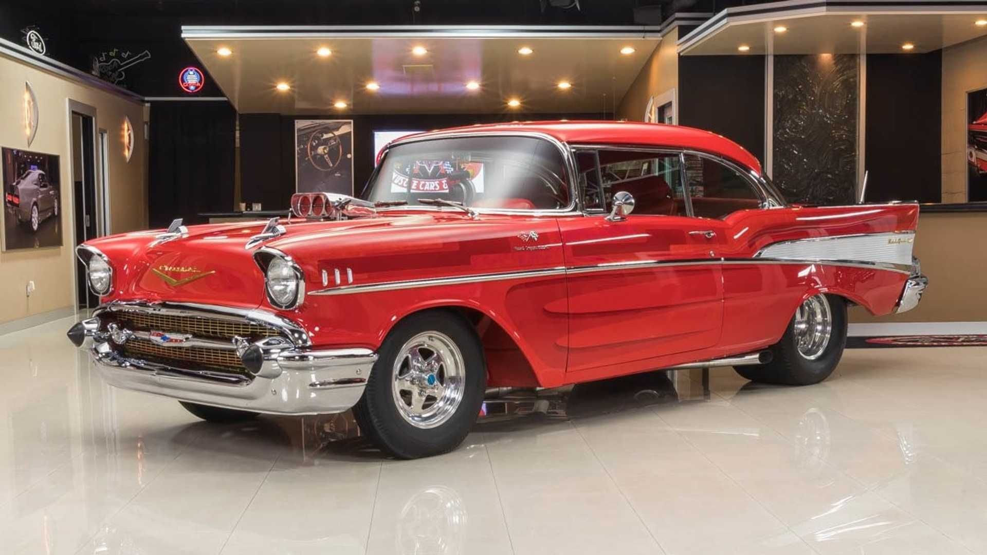 Could You Tame This 750 Horsepower '57 Chevy Belair? | Motorious