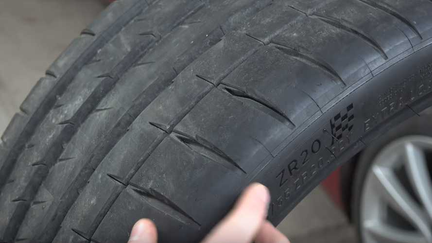Here's what those numbers and letters on a tyre sidewall mean