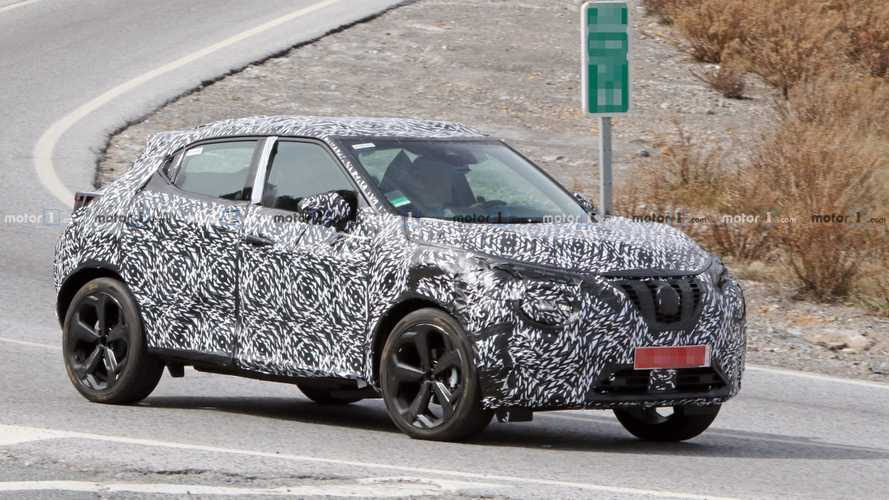 2020 Nissan Juke loses heavy camo, spied testing in Europe