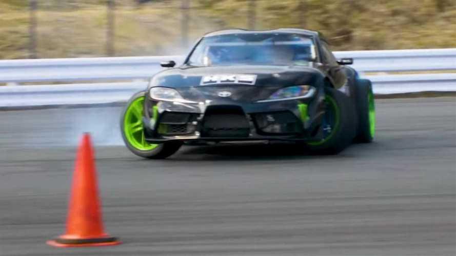 Toyota Supra Drift Video