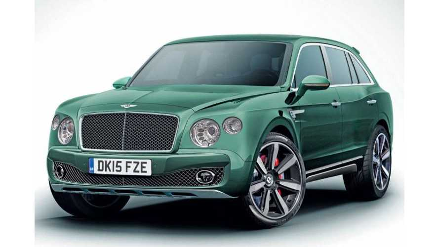 Bentley Plug-In Hybrid SUV Coming in 2017