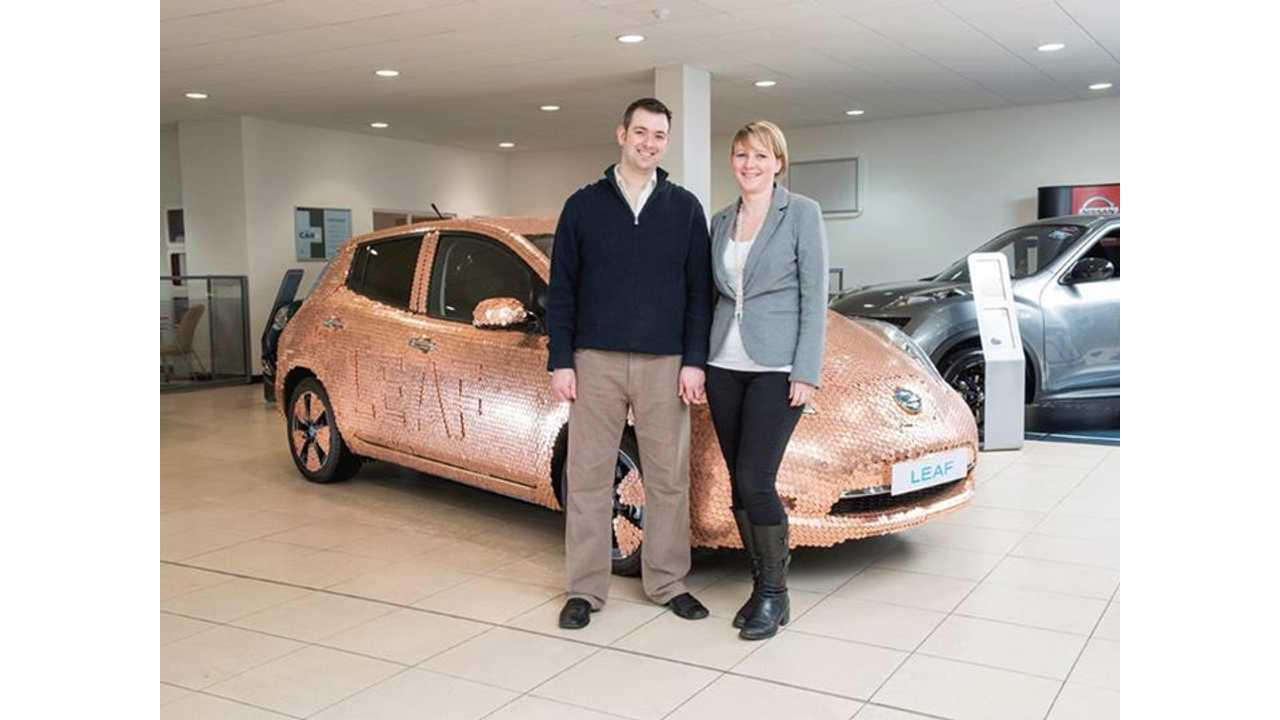 Nissan Features 100,000th LEAF Owner - A British Dentist, Makes Special 100K